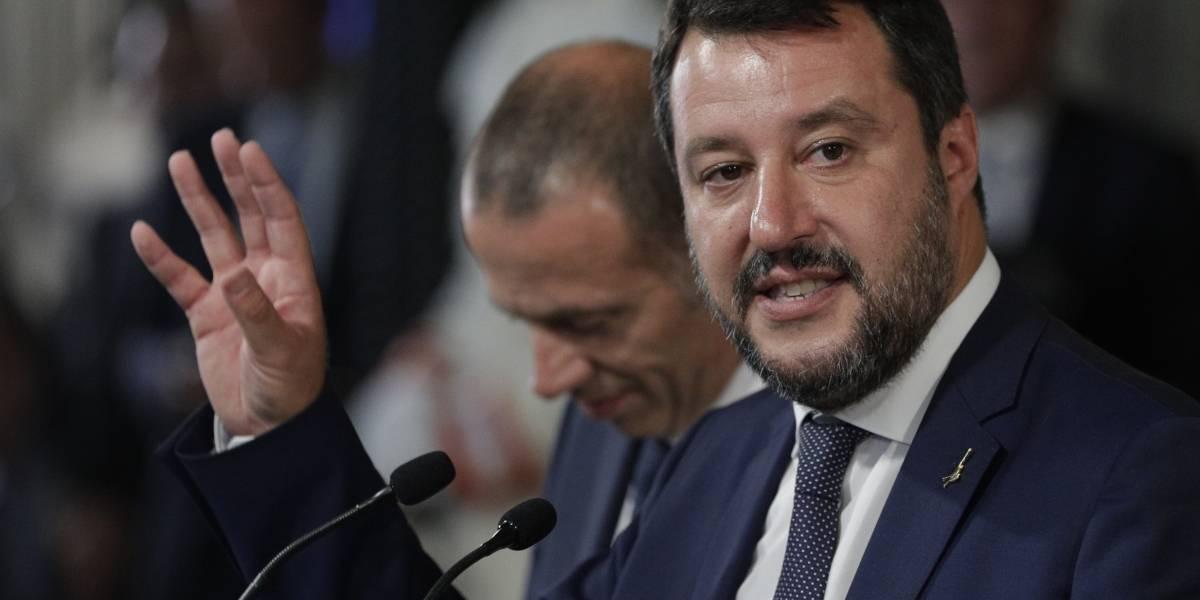 Investigan a Salvini por difamación contra capitana de barco humanitario