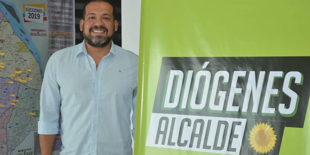 """""""La participación ciudadana es fundamental en mi plan de gobierno"""": Diógenes Rosero, candidato a la Alcaldía de Barranquilla"""