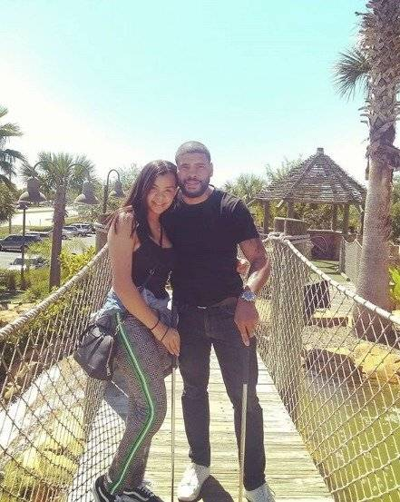 Hija de Vico C y su novio Instagram