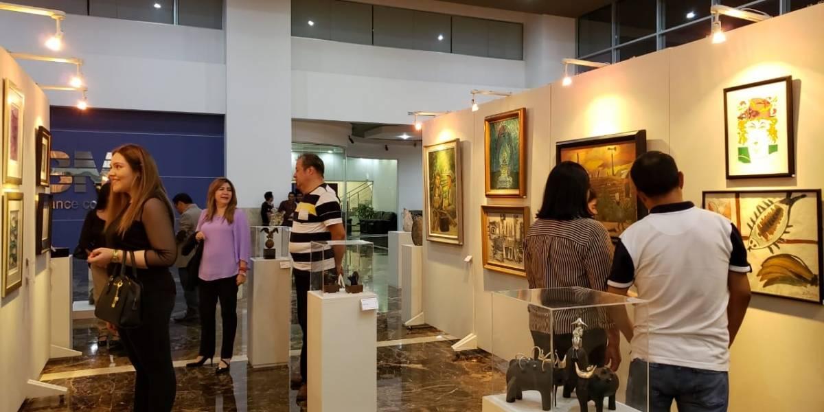 """Inauguran XVI exposición y venta de arte contemporáneo """"Del Arte al Niño"""""""