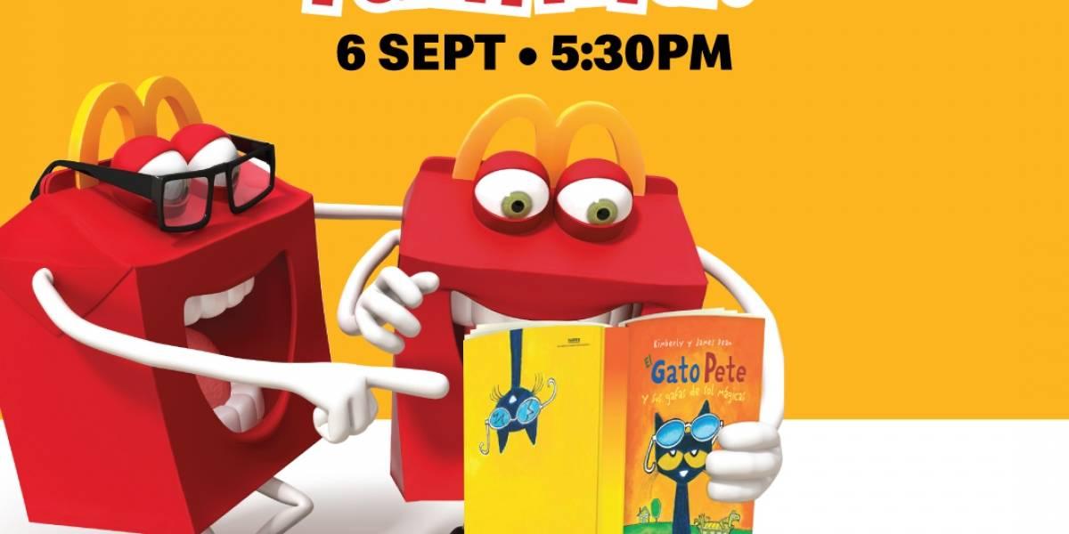 McDonald's regalará libros