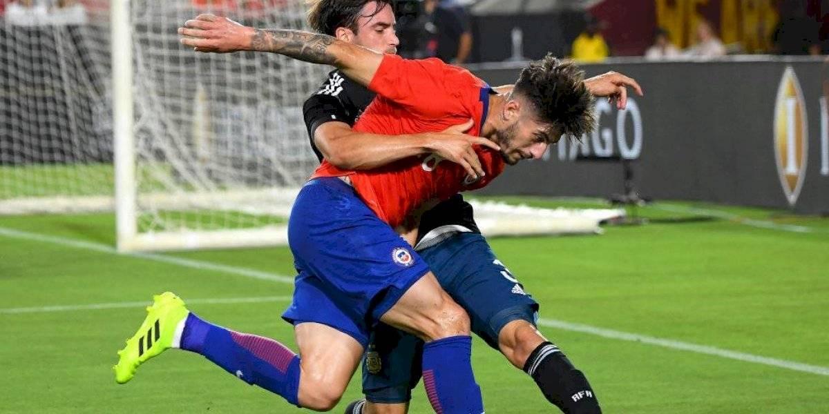 Ángelo Sagal vuelve a fallarle a Rueda y reprueba otro examen en la Roja