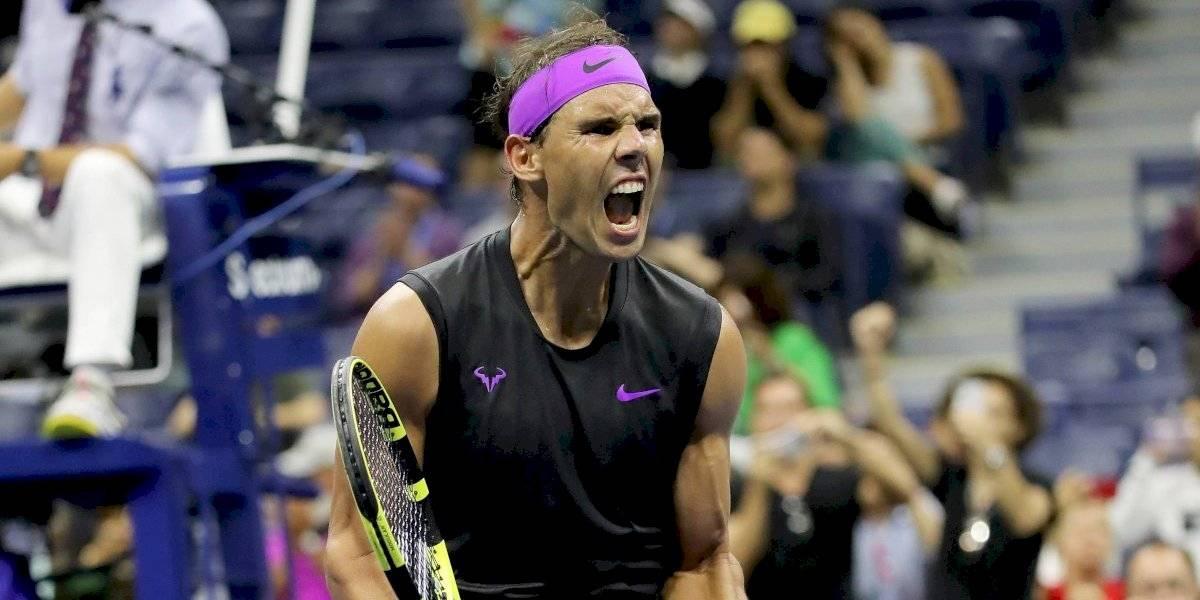 Nadal avanza a semifinales del US Open tras vencer a Schwartzman