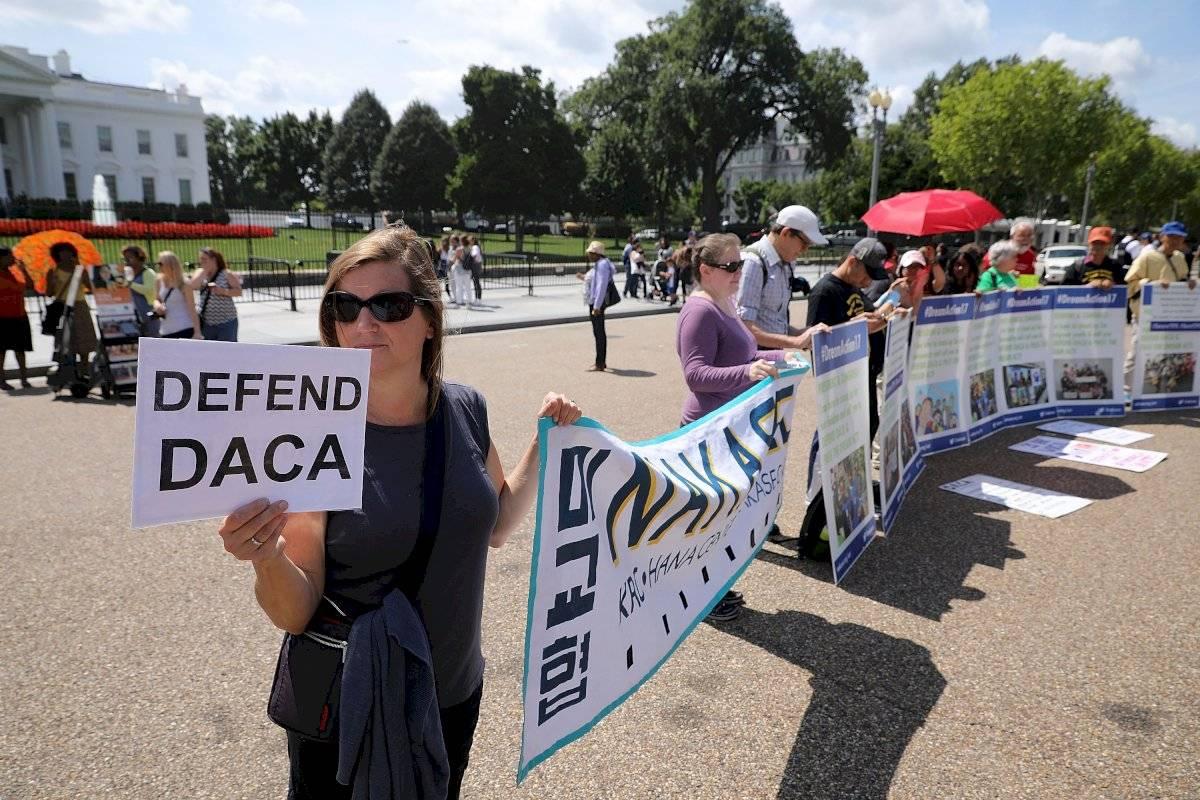 Han existido manifestaciones en defensa al programa DACA