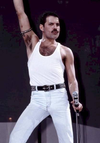 Freddie Mercury Getty Images