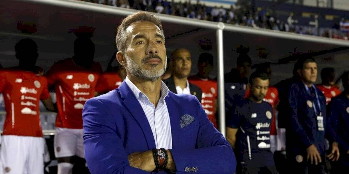 Gustavo Matosas es separado de la Selección de Costa Rica