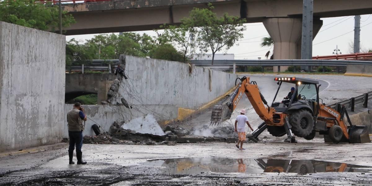 Galería: Así amaneció Monterrey tras el paso de Fernand