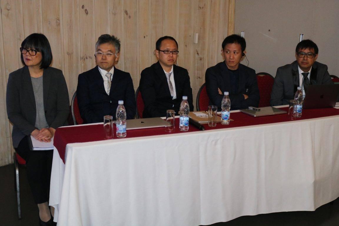 Científicos de Japón llegaron al país para presentar proyecto de detección para marea roja