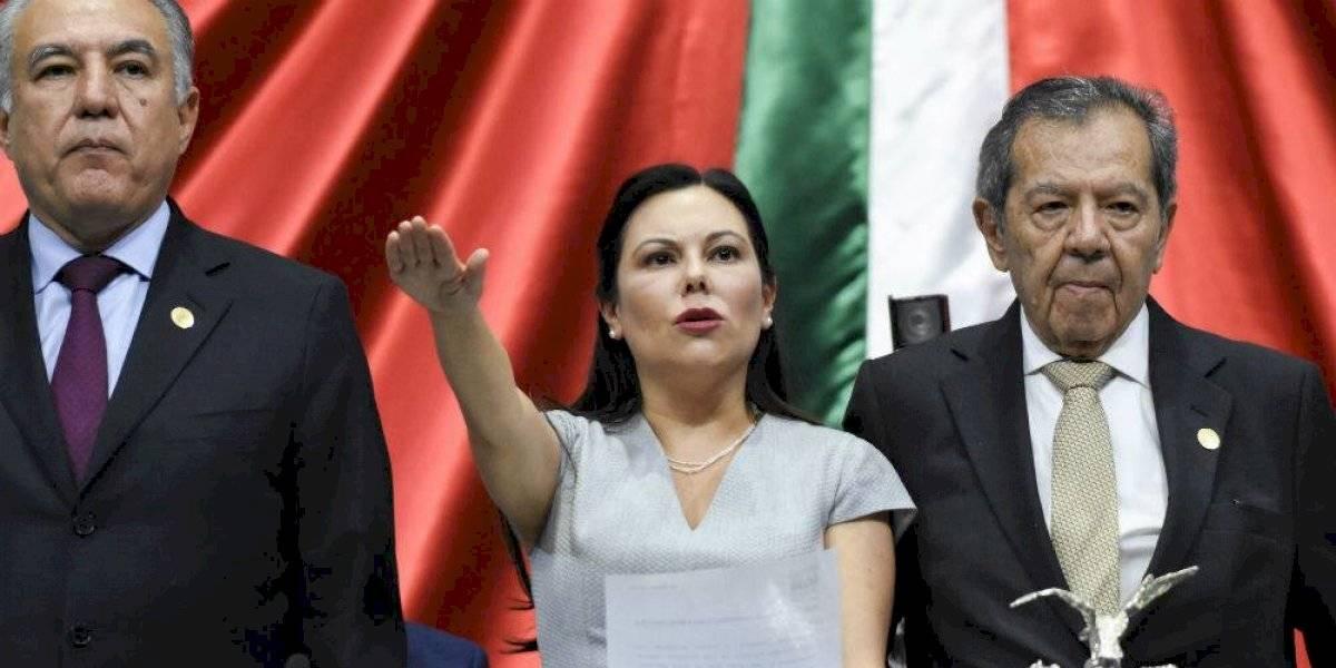 Destraban Mesa Directiva; Laura Rojas será presidenta de la Cámara de Diputados