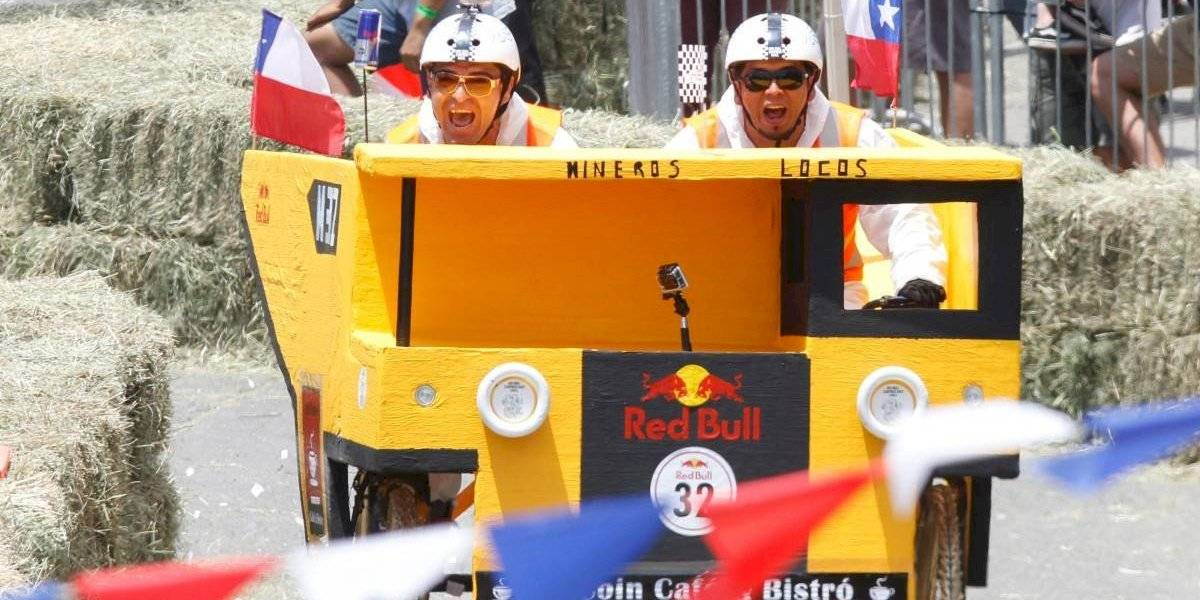 Regresan los autos locos de la Red Bull SoapBox Race