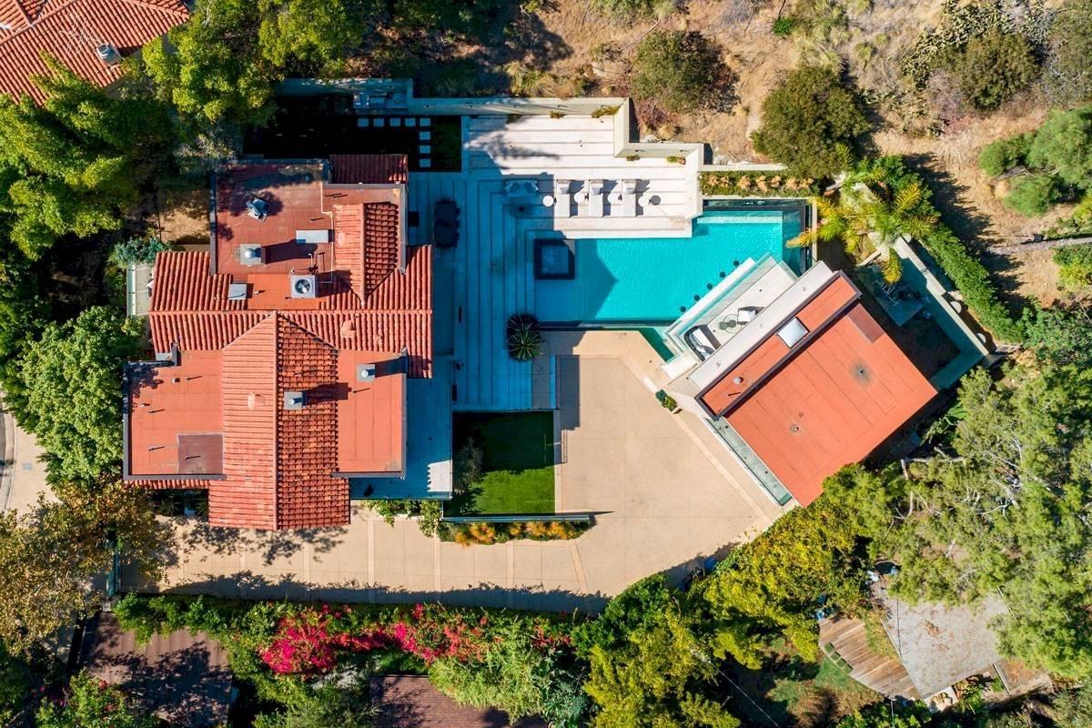 La casa de la cantante tiene 700 metros cuadrados. Pinterest