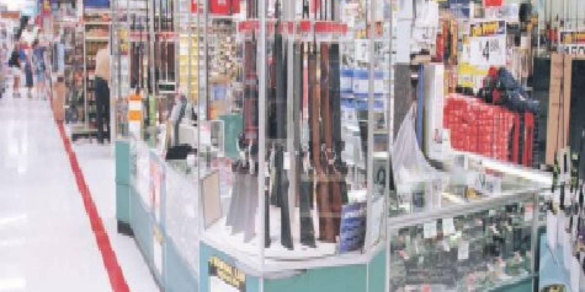 Walmart dejará de vender municiones para armas de mano