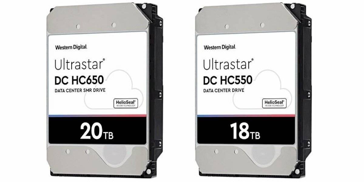 Western Digital anuncia discos duros de 18TB y 20TB