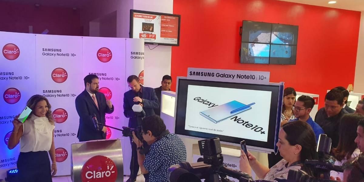 Samsung  y Claro presentan el Galaxy Note10: diseñado para dar vida  a las pasiones