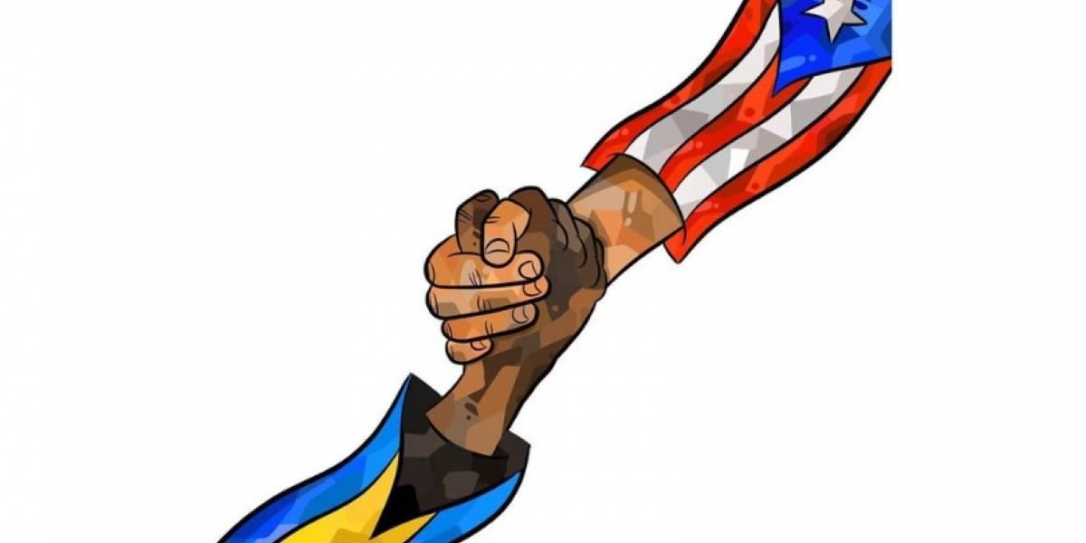 Quién está detrás del arte a beneficio de Bahamas