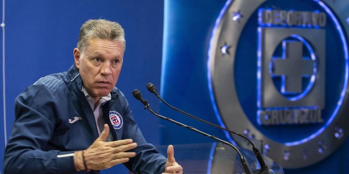'Gracias a todos': Ricardo Peláez se despide de Cruz Azul