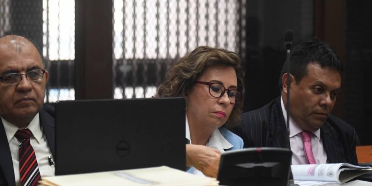 Practicarán nuevas evaluaciones médicas a Sandra Torres