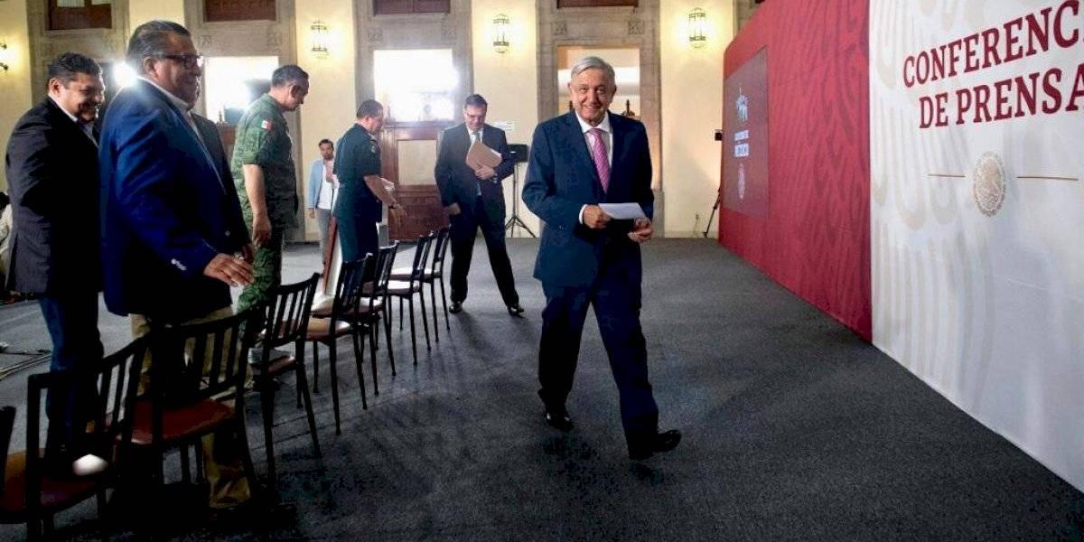Celebra AMLO resultados de estrategia migratoria para cumplir con EU