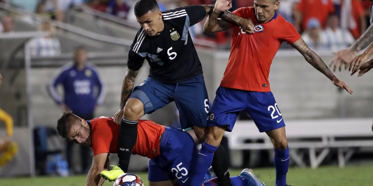"""Scaloni tras el """"amistoso"""" ante Chile: """"Siempre juega con el cuchillo entre los dientes contra Argentina"""""""