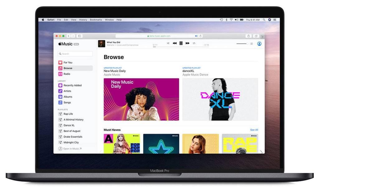 Por fin puedes escuchar Apple Music en tu navegador