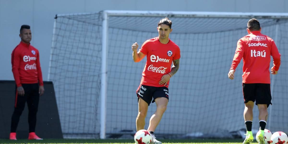 Felipe Gutiérrez fue liberado de la selección chilena por expresa petición de su club