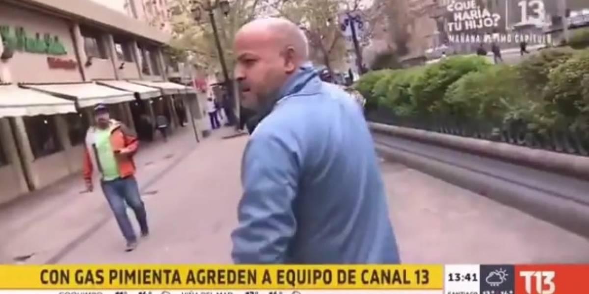 """Pancho Saavedra funó a la mujer que agredió a Miguel Acuña: """"La que tira gas pimienta y corre como rata"""""""