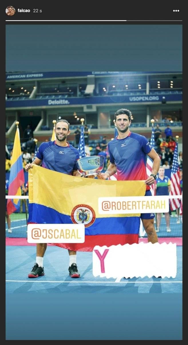 Falcao García celebró título de Cabal y Farah del US Open 2019