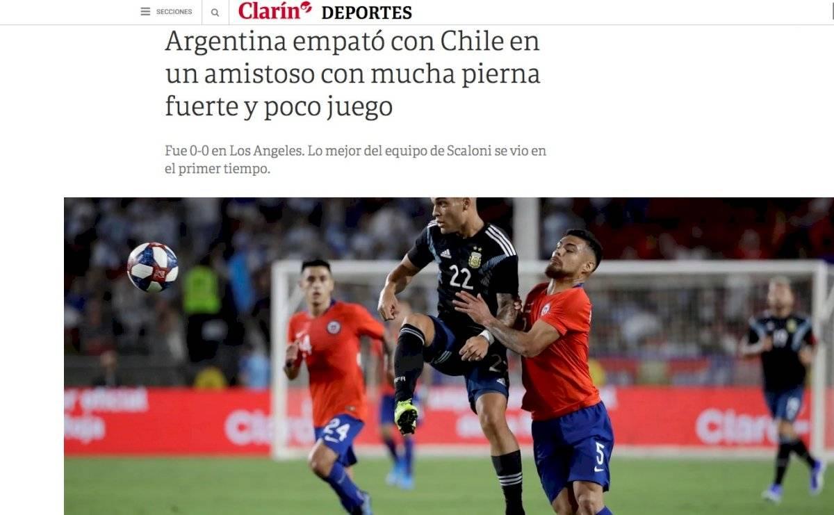 El análisis de la prensa argentina Clarín