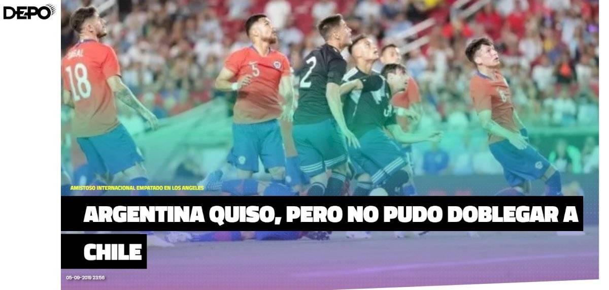 El análisis de la prensa argentina Crónica