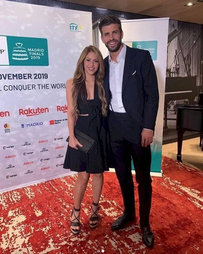 Shakira y Gerard Piqué Instagram