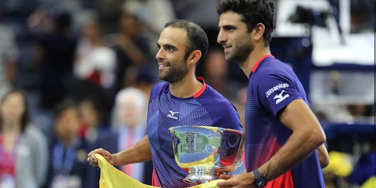 ¡Rendido a sus pies! Federer felicitó a Cabal y Farah por su maravilloso 2019