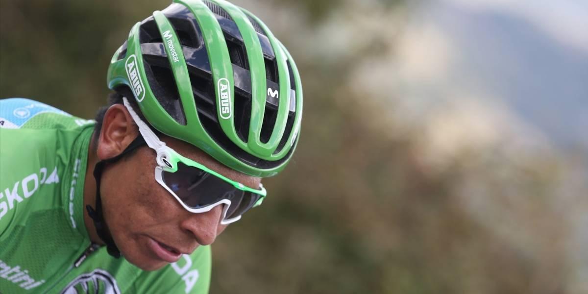 El duro vainazo de Nairo Quintana contra sus rivales tras el ascenso a Los Machucos