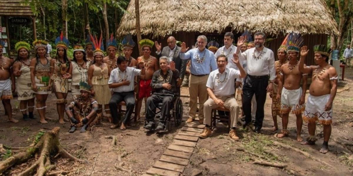 "Presidentes firman ""Pacto de Leticia"" para preservar recursos de Amazonía"