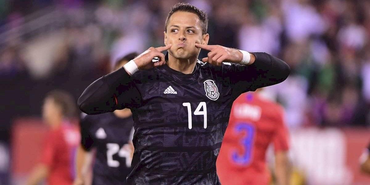 VIDEO: ¡La gran jugada individual del 'Tecatito'  para asistir al Chicharito en el primer gol de México!