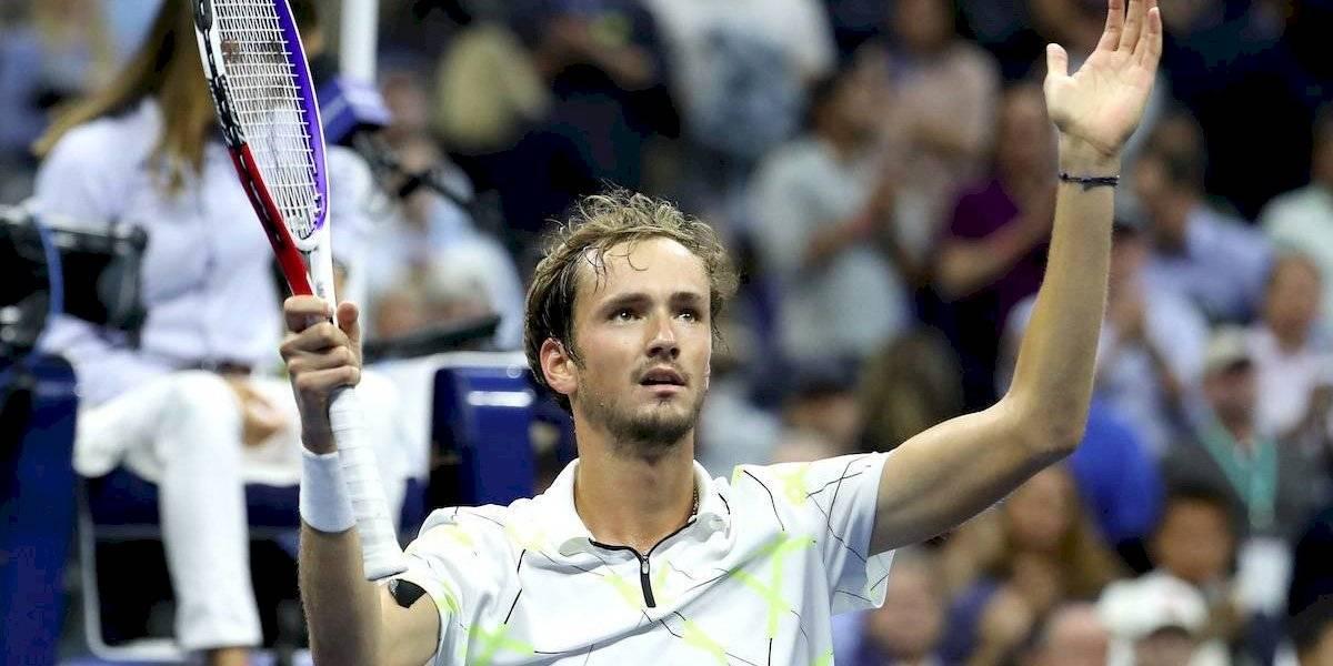 Medvedev derrotó a Dimitrov y es finalista en el US Open