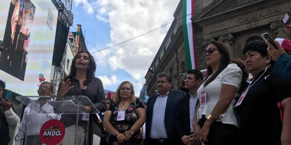 Ambulantes piden regulación y más espacios en CDMX