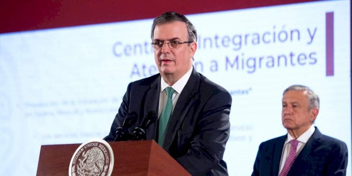 Vence acuerdo México-EU: anuncia Ebrard reducción de 56% en flujo migrante