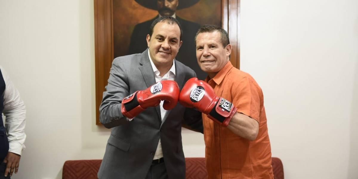 Cuauhtémoc Blanco, junto a Julio César Chávez, mandan mensaje a David Faitelson