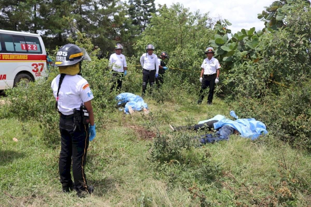 Torturan y asesinan a presuntos extorsionistas en San Juan Sacatepéquez CVB