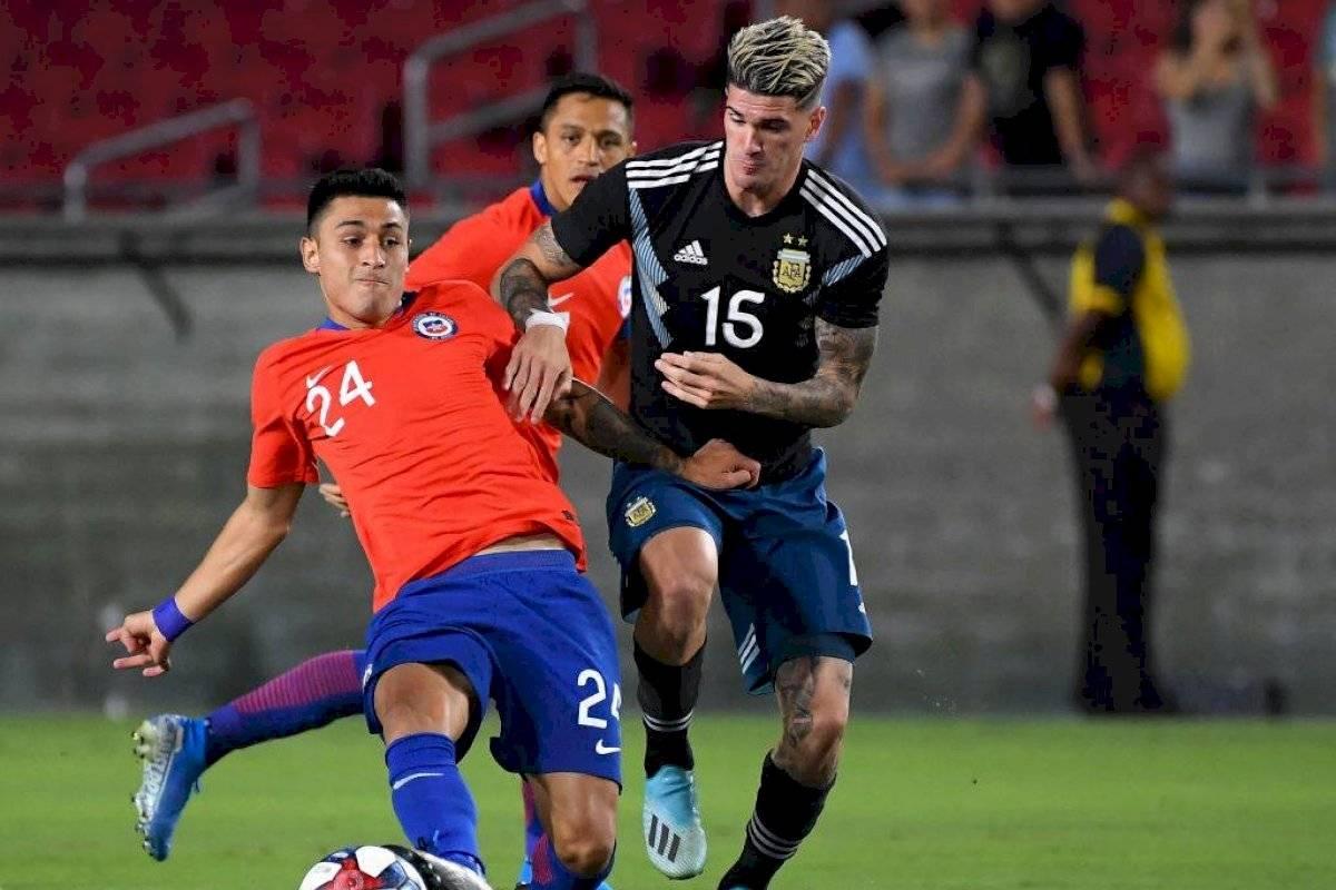 Los debutantes Baeza y Alarcón cumplieron en amistoso contra ...