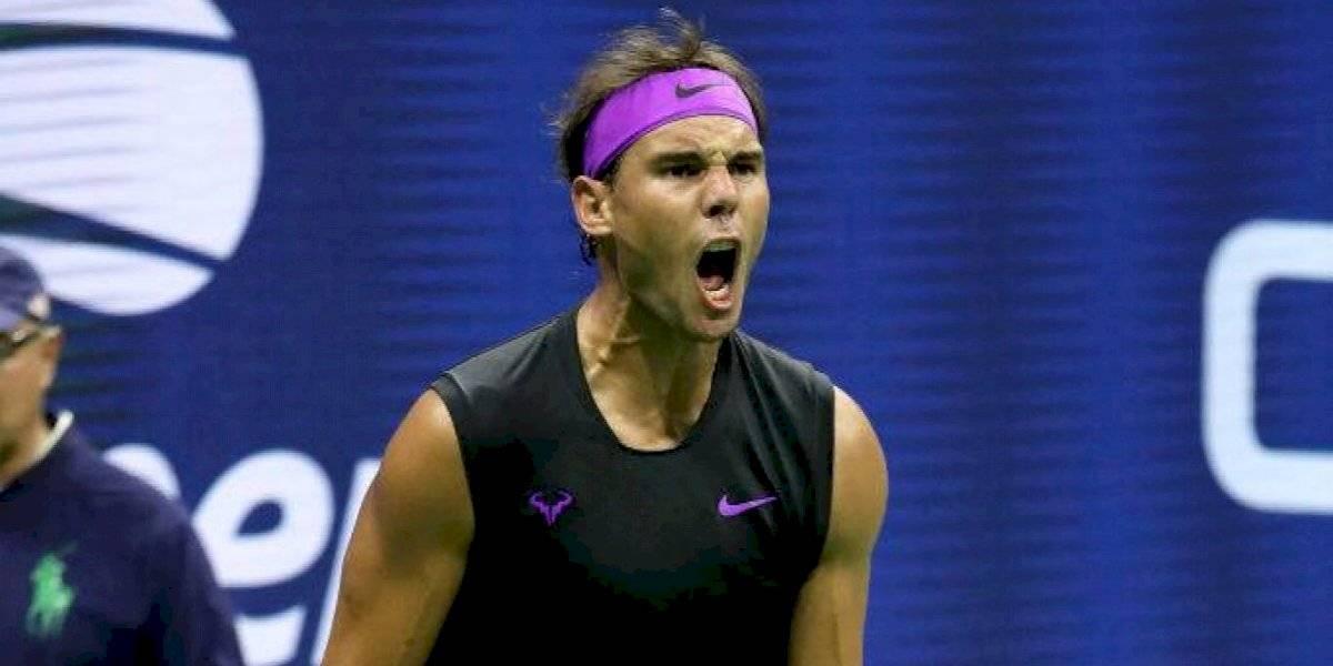 Nadal derrota a Berrettini y llega a la final del US Open perdiendo un solo set en todo el torneo