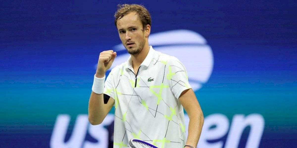 Medvedev se convirtió el primer finalista del US Open y ahora espera por Nadal