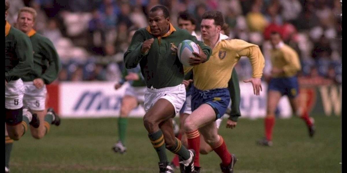 Muere Chester Williams: El rugbista negro que rompió el Apartheid en la selección de Sudáfrica de los 90