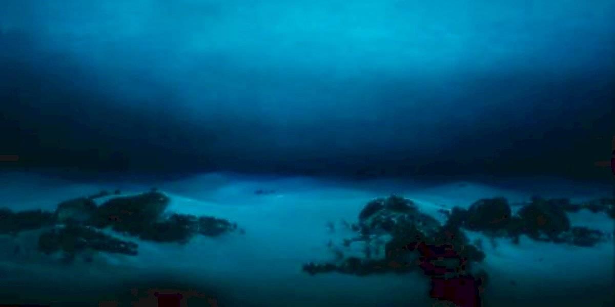 El enigma que desconcierta al mundo: enorme observatorio submarino desaparece misteriosamente sin dejar ningún rastro