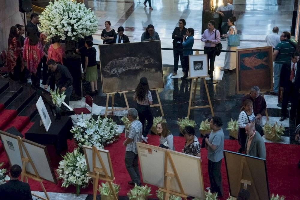 Homenaje a Francisco Toledo en Bellas Artes