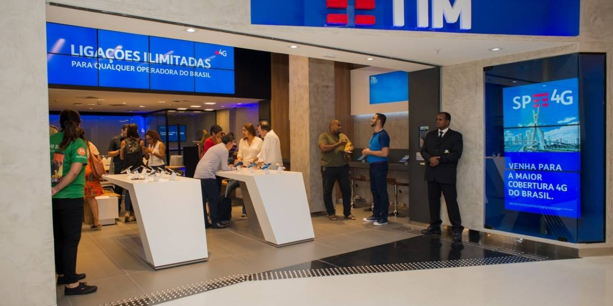 Operadora TIM altera pacote pré-pago e aumenta limite de internet