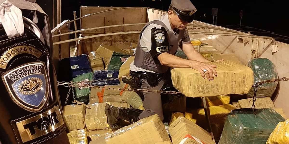 Polícia apreende 11 toneladas de maconha em São Paulo
