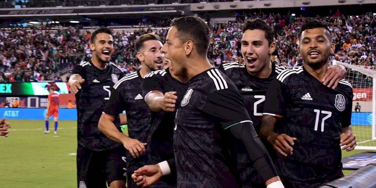 Una contundente Selección Mexicana golea a Estados Unidos y ya piensa en Argentina
