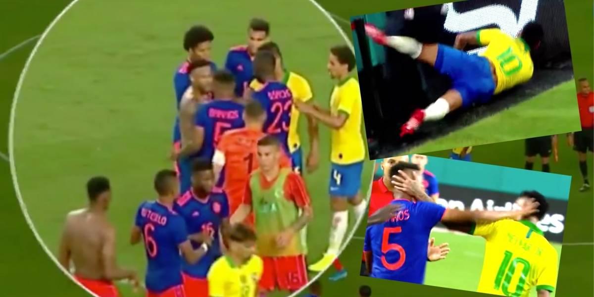 Resultado de imagen para brasil colombia