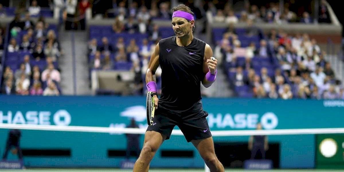 Nadal jugará la final del US Open ante el ruso Medvedev
